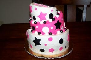 Topsy Turvy (pink, black, white)