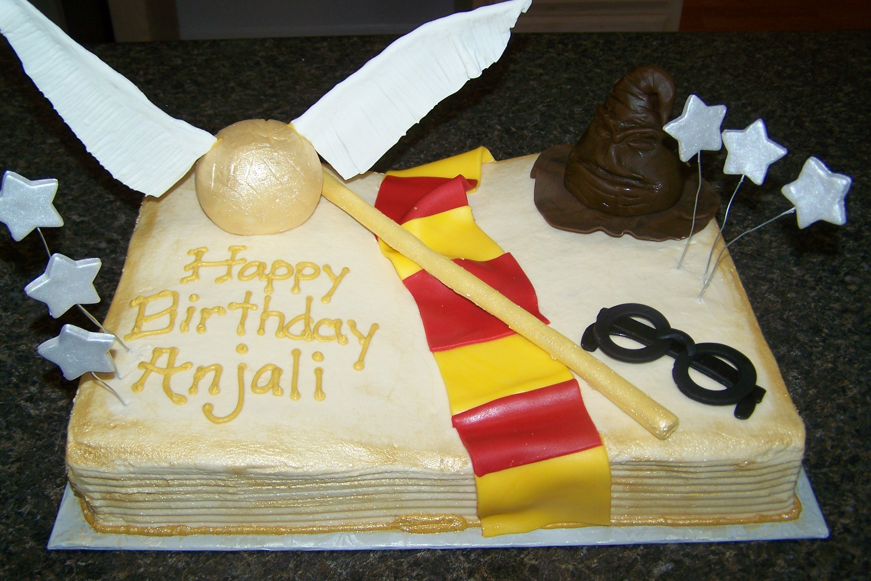 Harry Potter Cakes by B