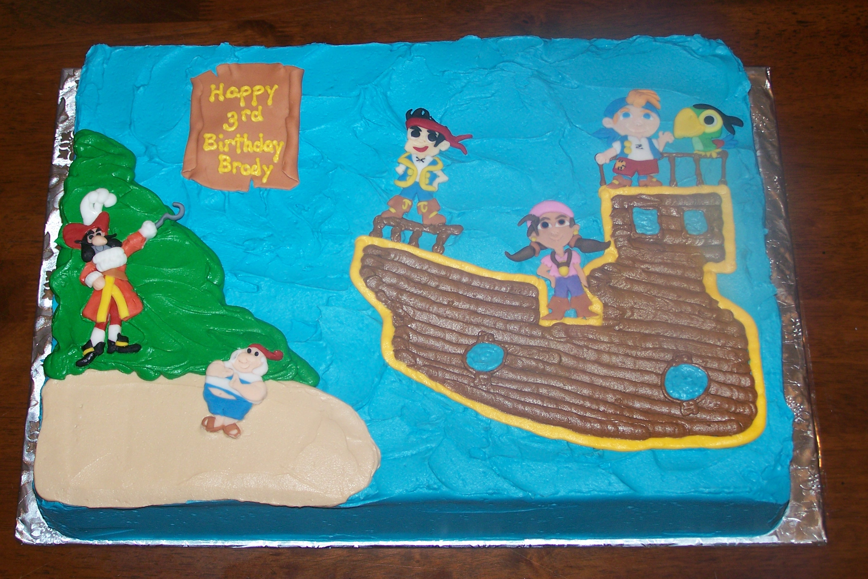 Jake and the Neverland Pirates Cakes by B