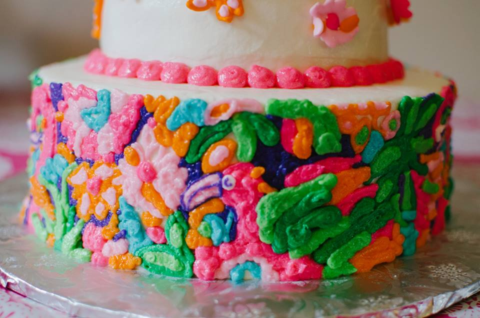 Lilly Pulitzer Cakes by B
