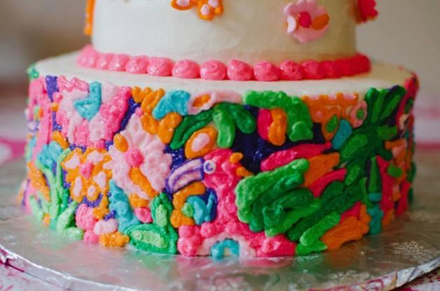 Lulu Lilly Pulitzer Cake 2