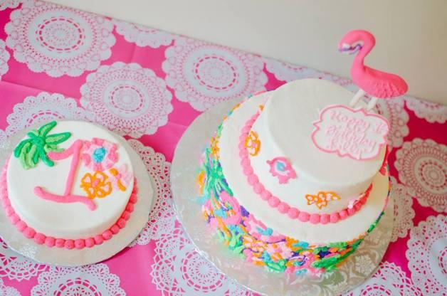 Lulu Lilly Pulitzer Cake & Smash Cake