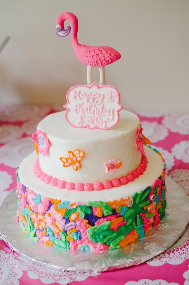 Lulu Lilly Pulitzer Cake